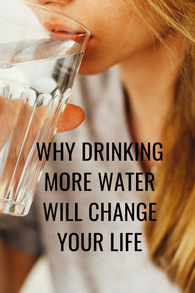 Healthy Living-Drink More Water